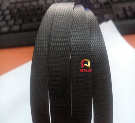 Dây đai nhựa màu đen